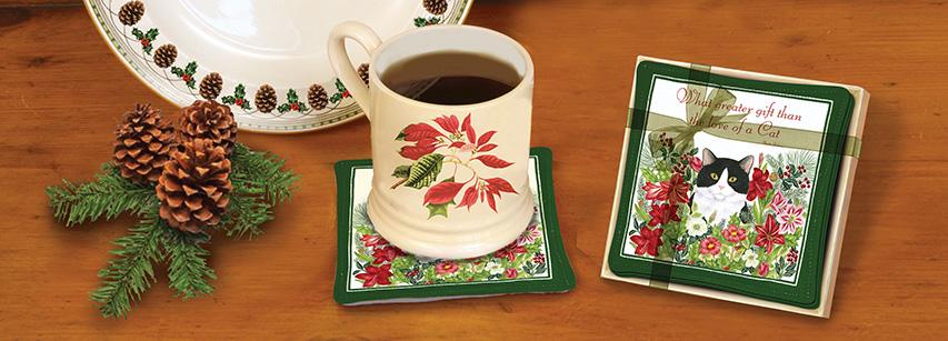 Spiced Mug Mats - Gift Boxed