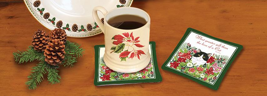 Spiced Mug Mats - Singles
