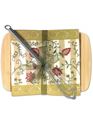 Cutting Board with Cocktail Napkins 35-41G