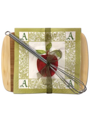 Cutting Board with Cocktail Napkins 35-47AA