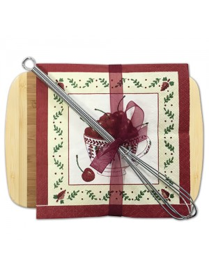 Cutting Board with Cocktail Napkins 35-47CT