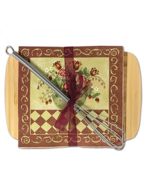 Cutting Board with Cocktail Napkins 35-53R